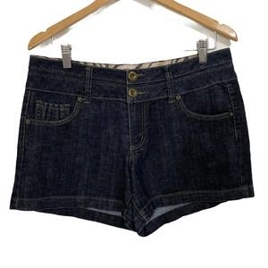 One 5 One Womens Jean Shorts Stretch Denim 10 0035